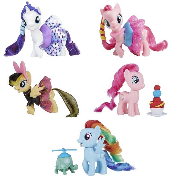 Купить Hasbro My Little Pony E0186 ПОНИ в блестящих юбках (в ассортименте), Игровые наборы и фигурки для детей Hasbro My Little Pony