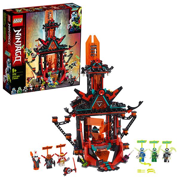 Купить LEGO Ninjago 71712 Конструктор ЛЕГО Ниндзяго Императорский храм Безумия, Конструкторы LEGO