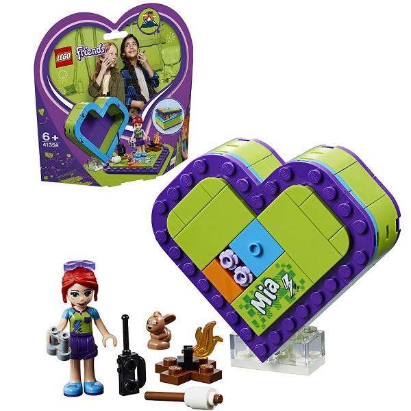 Купить Lego Friends 41358 Конструктор Лего Подружки Шкатулка-сердечко Мии, Конструкторы LEGO