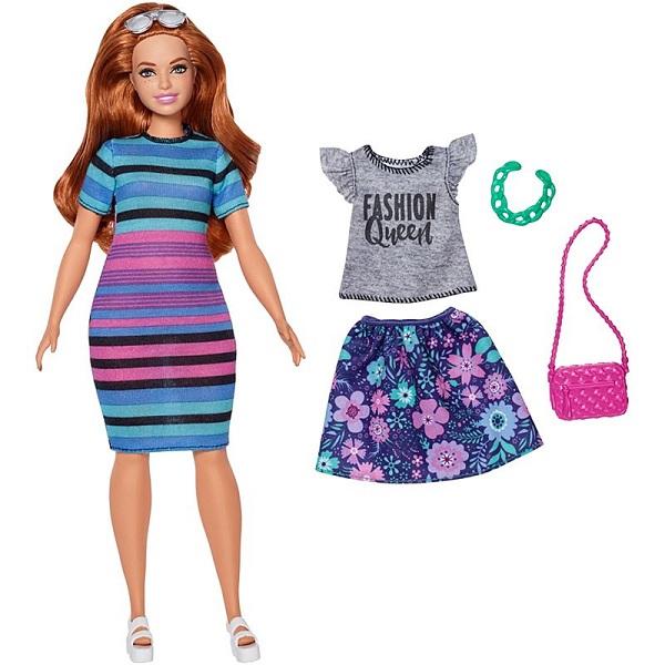 Купить Mattel Barbie FJF69 Барби Игра с модой Куклы & набор одежды, Игровые наборы и фигурки для детей Mattel Barbie