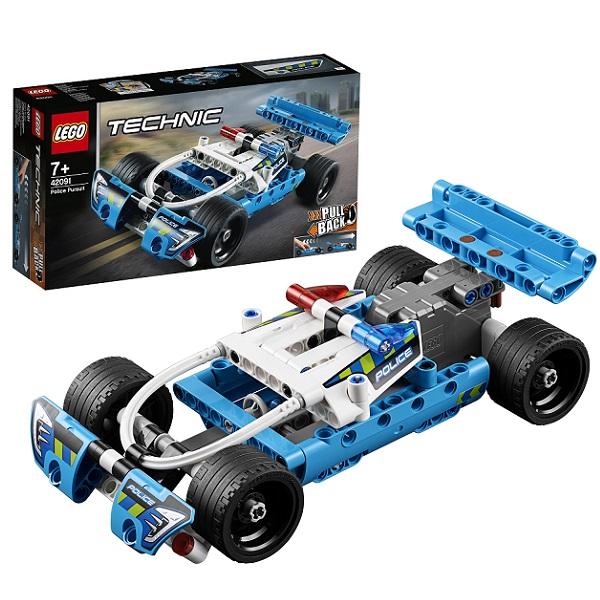 Купить LEGO Technic 42091 Конструктор ЛЕГО Техник Полицейская погоня, Конструкторы LEGO