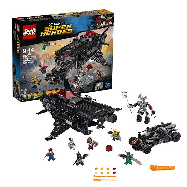 Купить LEGO Super Heroes 76087 Конструктор ЛЕГО Супер Герои Нападение с воздуха, Конструктор LEGO
