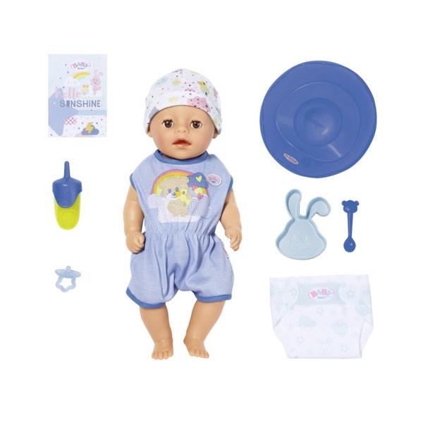 Купить Zapf Creation Baby born 827-338 Бэби Борн my little BABY born Мальчик Нежное прикосновение, 36 см, Куклы и пупсы Zapf Creation