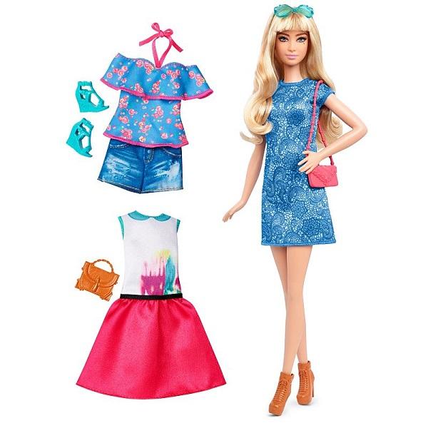 Купить Mattel Barbie DTF06 Игровой набор из серии Игра с модой , Куклы и пупсы Mattel Barbie