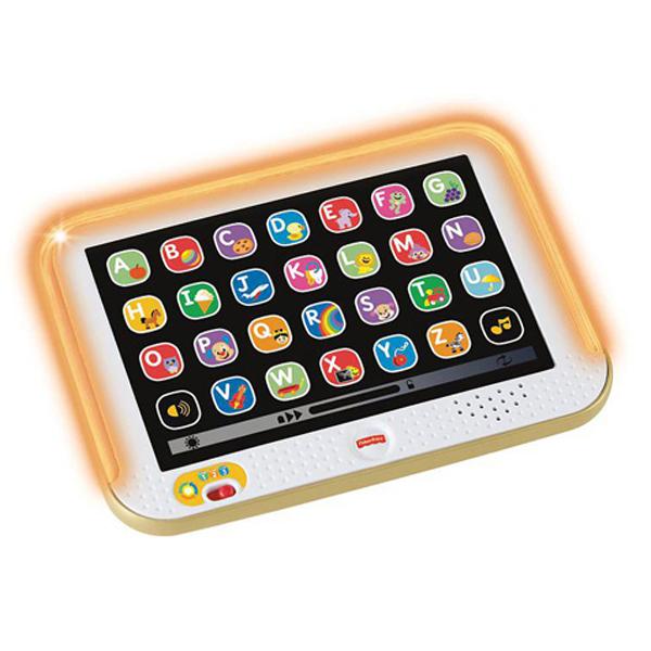 Купить Mattel Fisher-Price DHY54 Фишер Прайс Смейся и учись Обучающий планшет с технологией Smart Stages, Игрушка для малышей Mattel Fisher-Price