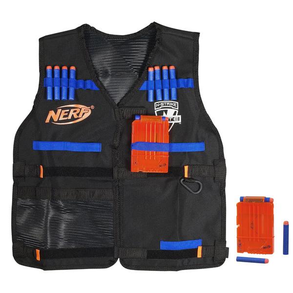 Купить Hasbro Nerf A0250 Нерф Бластер Элит Жилет агента, Игрушечное оружие Hasbro Nerf