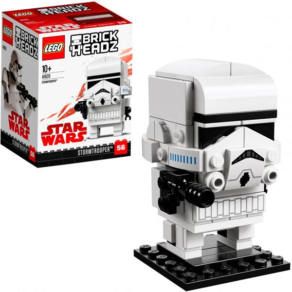 Lego BrickHeadz 41620 Конструктор Лего БрикХедз Штурмовик, арт:154826 - BrickHeadz, Конструкторы LEGO