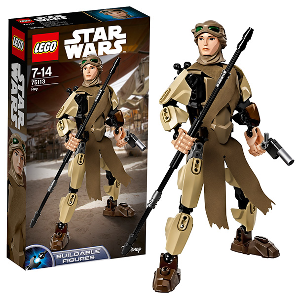 Купить Lego Star Wars 75113 Лего Звездные Войны Рей, Конструктор LEGO