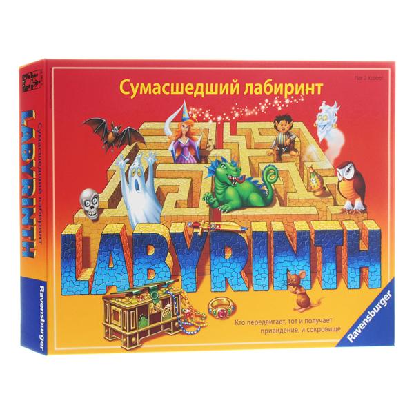Купить Ravensburger R26582 Настольная игра Сумасшедший лабиринт