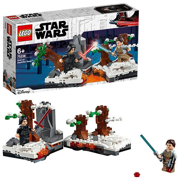 Купить LEGO Star Wars 75236 Конструктор ЛЕГО Звездные Войны Битва при базе Старкиллер, Конструкторы LEGO