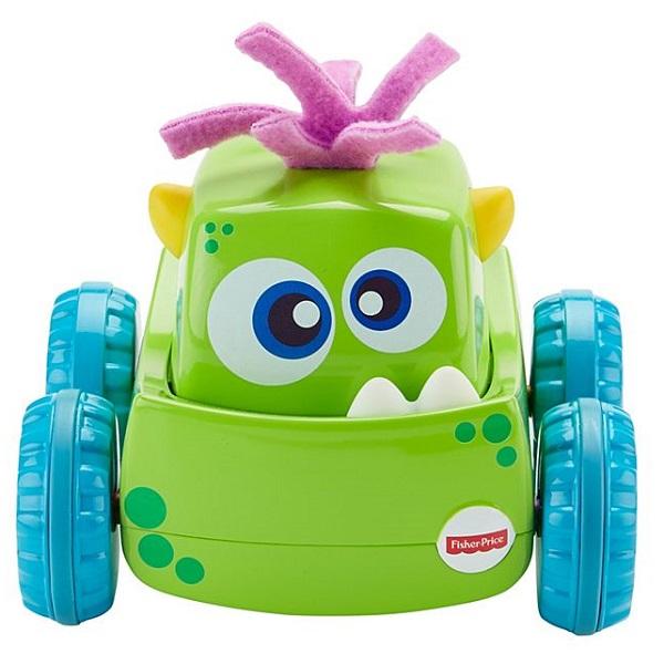 Купить Mattel Fisher-Price DRG15 Фишер Прайс Инерционные монстрики, Развивающие игрушки для малышей Mattel Fisher-Price