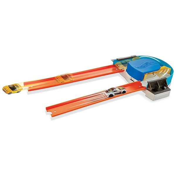 Mattel Hot Wheels FPG95 Хот Вилс Конструктор трасс:Базовый набор с машинкой(в ассортименте), арт:154707 - Автотреки и машинки Hot Wheels, Транспорт