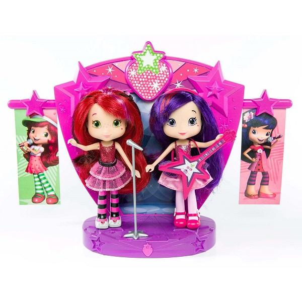Купить Strawberry Shortcake 12245 Шарлотта Земляничка Две куклы 15 см на сцене, Кукла Strawberry Shortcake