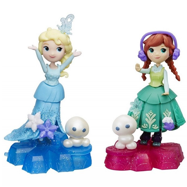 Hasbro Disney Princess B9249 Маленькая Кукла Холодное Сердце на платформе-снежинке - Куклы и аксессуары