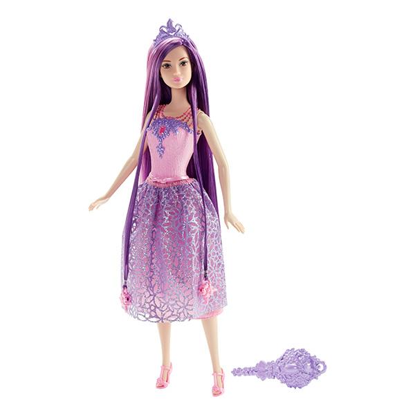 Купить Mattel Barbie DKB59 Барби Куклы-принцессы с длинными волосами, Кукла Mattel Barbie