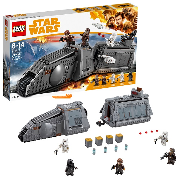 Купить LEGO Star Wars 75217 Конструктор ЛЕГО Звездные Войны Имперский транспорт, Конструкторы LEGO