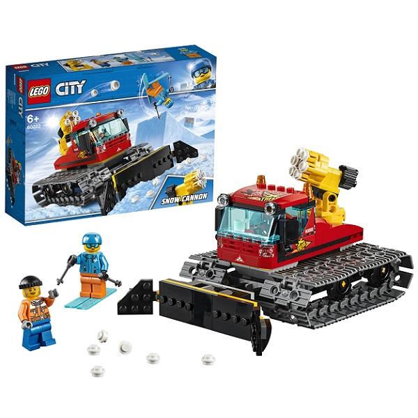 Купить LEGO City 60222 Конструктор ЛЕГО Город Транспорт: Снегоуборочная машина, Конструкторы LEGO