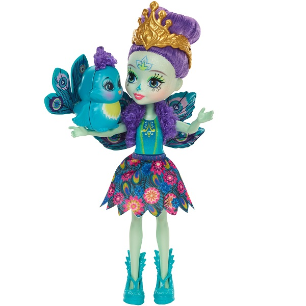 Купить Mattel Enchantimals DYC76 Кукла Пэттер Павлина, 15 см, Куклы и пупсы Mattel Enchantimals