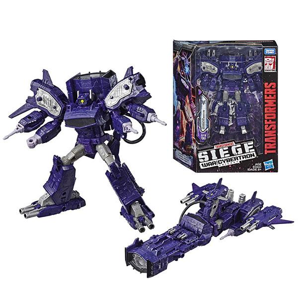 Игрушечные роботы и трансформеры Hasbro Transformers E3419/E3576 Трансформеры КЛАСС ЛИДЕРЫ Шоквейв фото