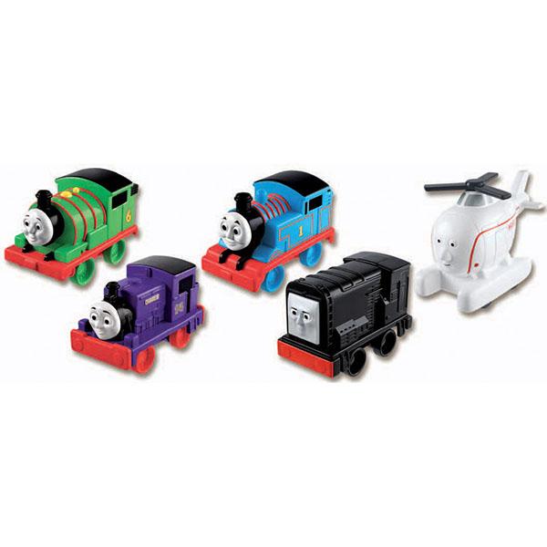 Купить Mattel Thomas & Friends W2190 Томас и друзья Веселые друзья-паровозики, Наборы игрушечных железных дорог, локомотивы, вагоны Mattel Thomas & Friends