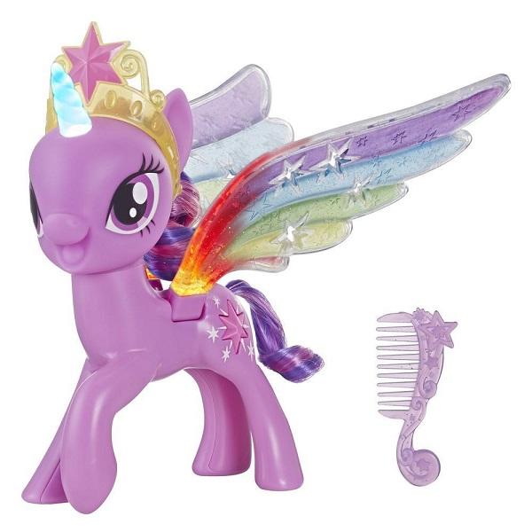 Купить Hasbro My Little Pony E2928 Май Литл Пони Искорка с радужными крыльями, Игровые наборы и фигурки для детей Hasbro My Little Pony