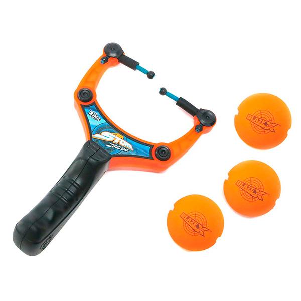 Купить Zing AS972 Зинг Рогатка с 3-мя мягкими шариками, Набор оружия Zing