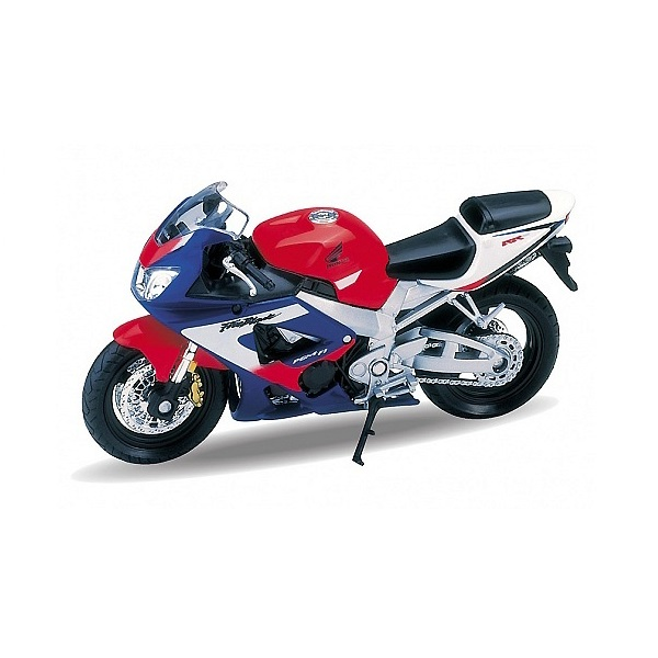 Welly 12164P Велли Модель мотоцикла 1:18 MOTORCYCLE / HONDA CBR900RR FIREBLADE, Мотоцикл Welly  - купить со скидкой