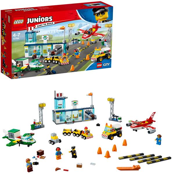 Lego Juniors 10764 Конструктор Лего Джуниорс Городской аэропорт, арт:154192 - Джуниорс, Конструкторы LEGO