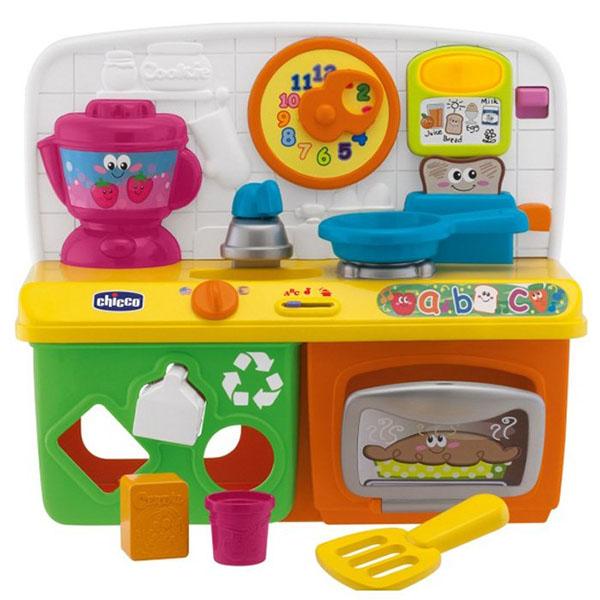 Купить CHICCO TOYS 6903AR Говорящая игрушка Кухня , Детская кухня CHICCO TOYS