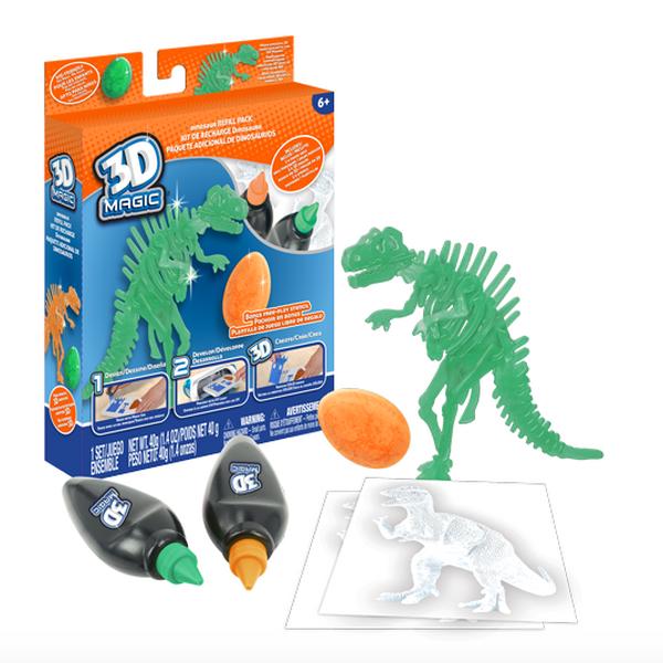 3D Magic 83001 Тематический набор для создания объемных моделей  тиранозавр рекс