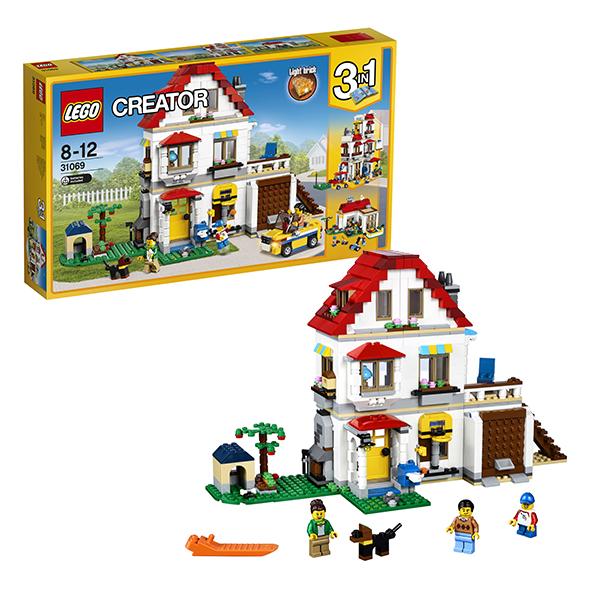 Lego Creator 31069 Конструктор Лего Криэйтор Загородный дом, арт:149794 - Криэйтор, Конструкторы LEGO