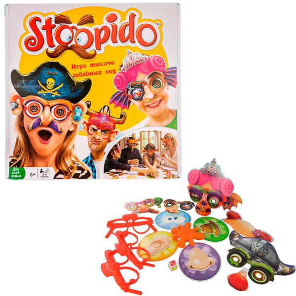 Настольная игра Ooba — Ooba NPD1504 Настольная игра Stoopido