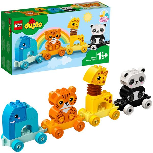 Купить LEGO DUPLO 10955 Конструктор ЛЕГО ДУПЛО Поезд для животных, Конструкторы LEGO