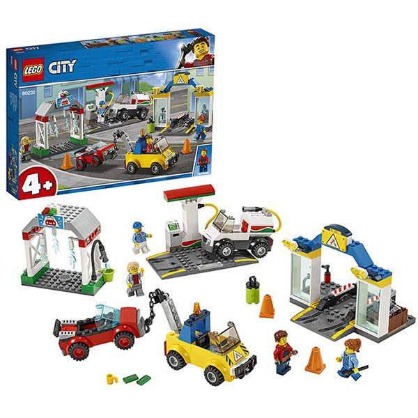 Купить LEGO City 60232 Конструктор ЛЕГО Автостоянка, Конструктор LEGO
