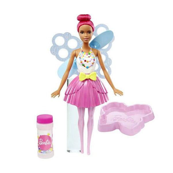 Купить Mattel Barbie DVM96 Барби Феи с волшебными пузырьками Яркая, Кукла Mattel Barbie