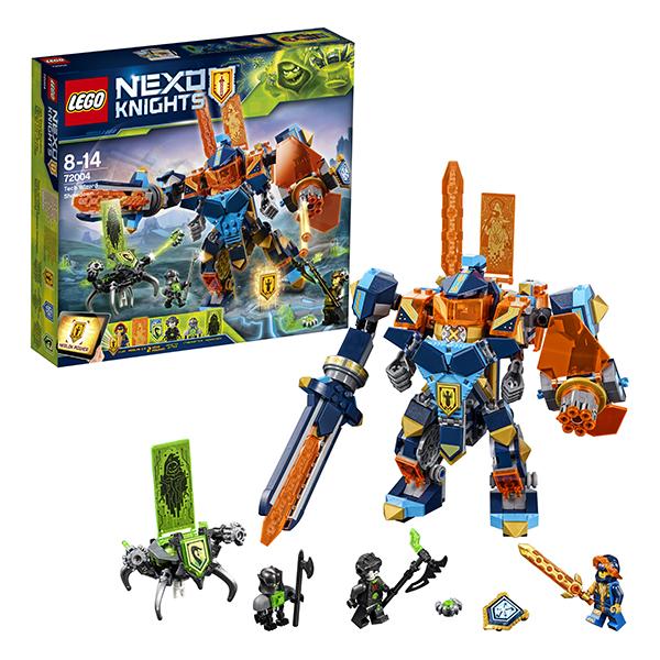 Lego Nexo Knights 72004 Конструктор Лего Нексо Решающая битва роботов, арт:152456 - Nexo Knight, Конструкторы LEGO