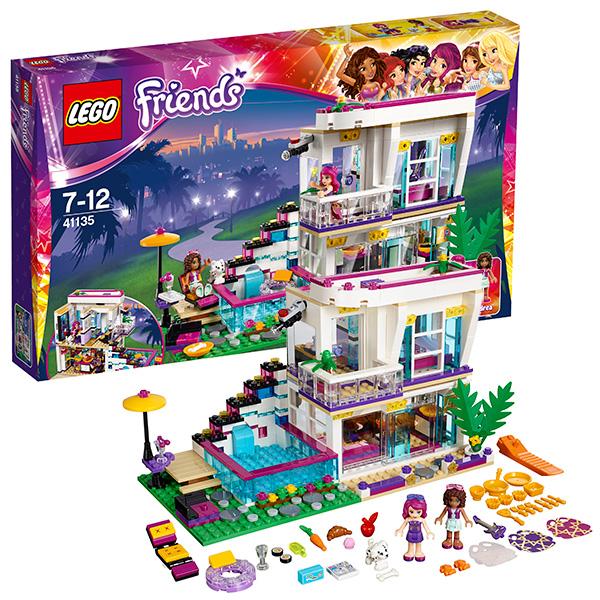 Lego Friends 41135 Лего Подружки Поп-звезда: дом Ливи