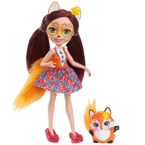 Купить Mattel Enchantimals DVH89 Кукла Фелисити Лис, 15 см, Куклы и пупсы Mattel Enchantimals