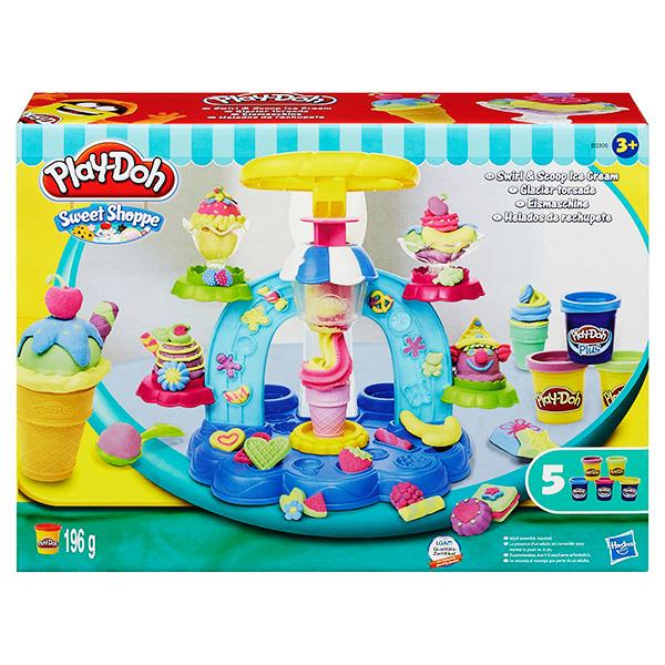 Купить Hasbro Play-Doh B0306 Игровой набор пластилина Фабрика мороженого , Пластилин Hasbro Play-Doh