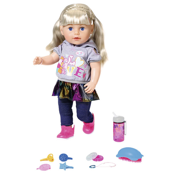 Купить Zapf Creation Baby born 824-603 Бэби Борн Кукла Сестричка, 43 см, Куклы и пупсы Zapf Creation