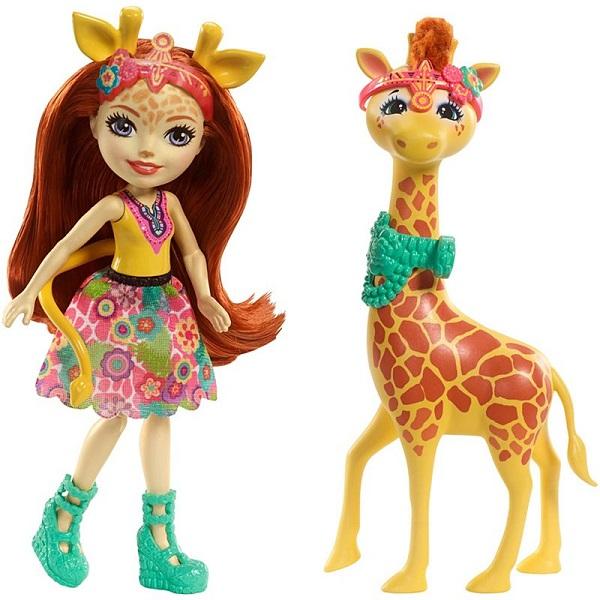 Купить Mattel Enchantimals FKY74 Кукла с большой зверюшкой, Куклы и пупсы Mattel Enchantimals