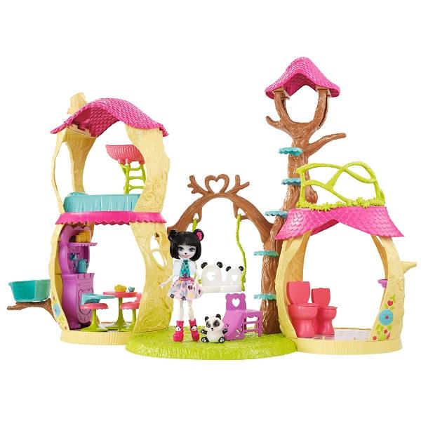 Купить Mattel Enchantimals FNM92 Лесной замок, Игровые наборы Mattel Enchantimals