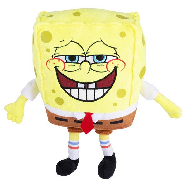 SpongeBob EU690902 Плюшевый Спанч Боб (со звук. эффектами,пукает,20 см)
