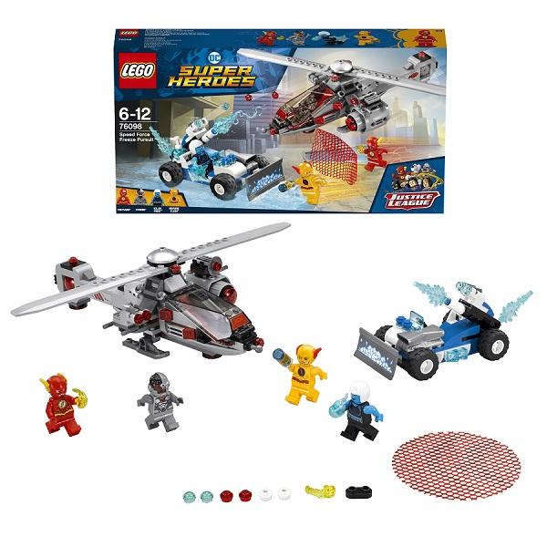 Купить Lego Super Heroes 76098 Лего Супер Герои Скоростная погоня, Конструкторы LEGO