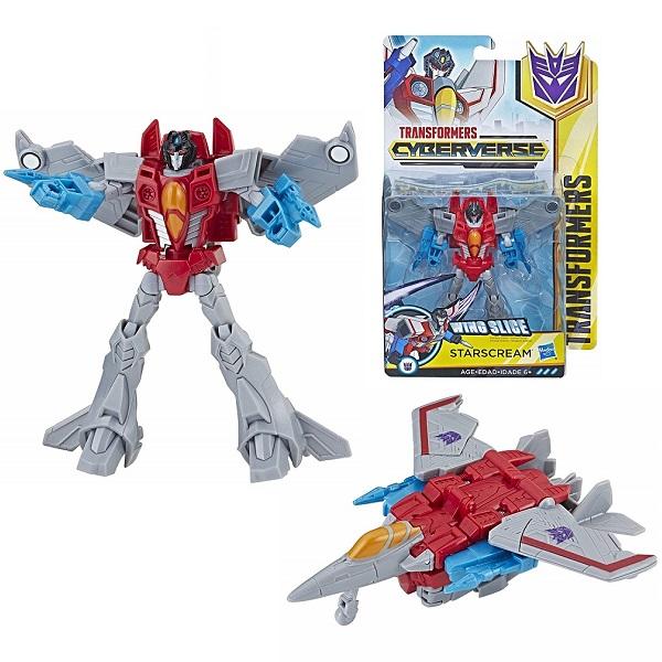 Купить Hasbro Transformers E1884/E1902 Трансформер КИБЕРВСЕЛЕННАЯ 14 см Старскрим, Игровые наборы и фигурки для детей Hasbro Transformers