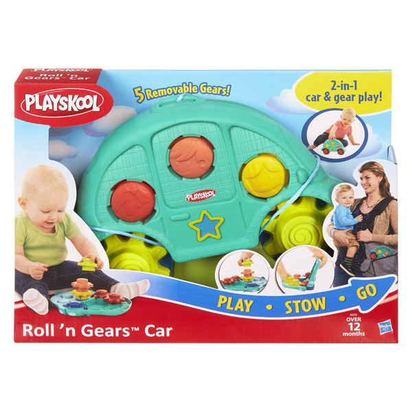 Hasbro Playskool B0500 Возьми с собой Машинка и шестеренки
