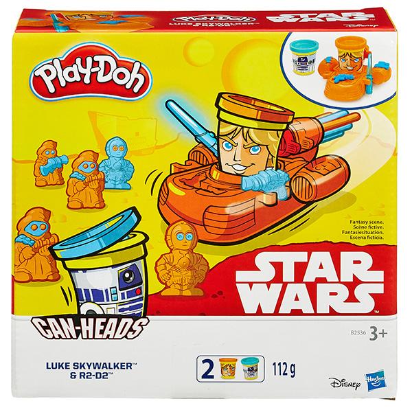Купить Hasbro Play-Doh B0595 Герои Звездные войны (в ассортименте), Пластилин Hasbro Play-Doh