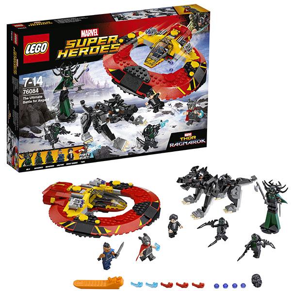 Купить Lego Super Heroes 76084 Лего Супер Герои Решающая битва за Асгард, Конструктор LEGO