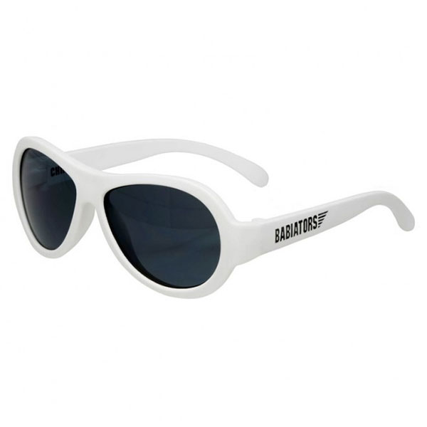 Купить Babiators BAB-015 Солнцезащитные очки Original Aviator.Шаловливый белый.Classic (3-5), Солнцезащитные очки Babiators