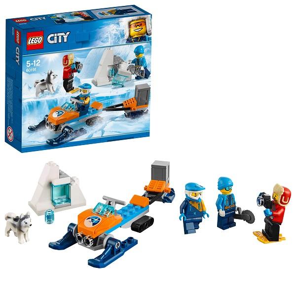 Купить Lego City 60191 Конструктор Лего Город Арктическая экспедиция Полярные исследователи, Конструкторы LEGO